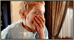 "Click photo to watch ""Rosemary's Baby"""